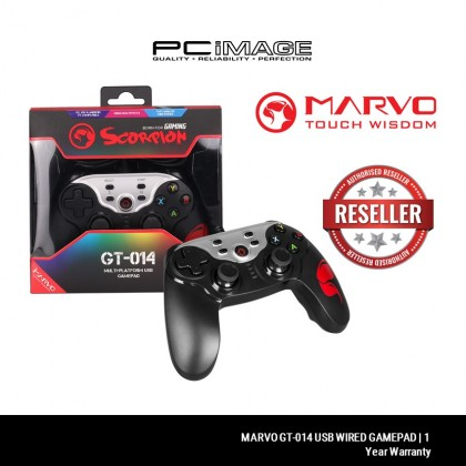 MARVO GT-014 USB WIRED GAMEPAD - GT-014