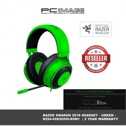 RAZER KRAKEN HEADSET - GREEN - RZ04-02830200-R3M1