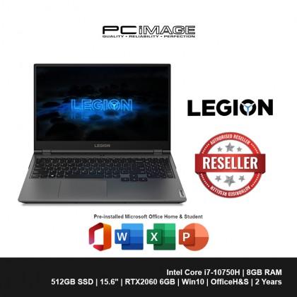 "LENOVO Legion 5Pi 15IMH05H 82AW003FMJ 15.6"" Gaming Laptop - Iron Grey (i7-10750H, 8GB, 512GB, RTX2060, Win10, OfficeH&S)"