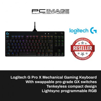 LOGITECH G PRO X MECHANICAL GAMING KEYBOARD (920-009239)