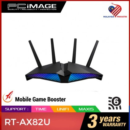 ASUS RT-AX82U AX5400 DUAL BAND PERFORMANCE WIFI 6 GAMING ROUTER
