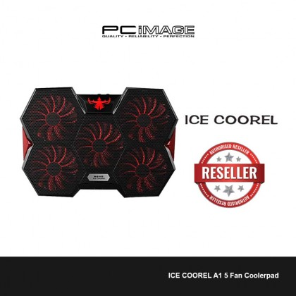 ICE COOREL A1 5 Fan Coolerpad