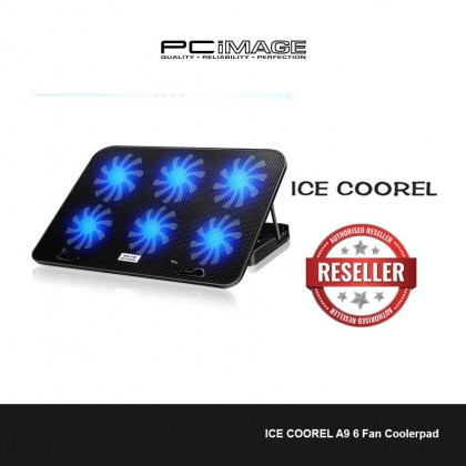 ICE COOREL A9 6 Fan Coolerpad