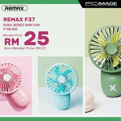 REMAX F37 Ruka Series Usb Handheld Portable Mini Fan