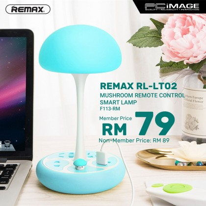 REMAX RL-LT02 Mushroom Remote Control Smart Lamp