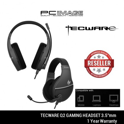 TECWARE Q2 GAMING HEADSET - TW-AC-Q2