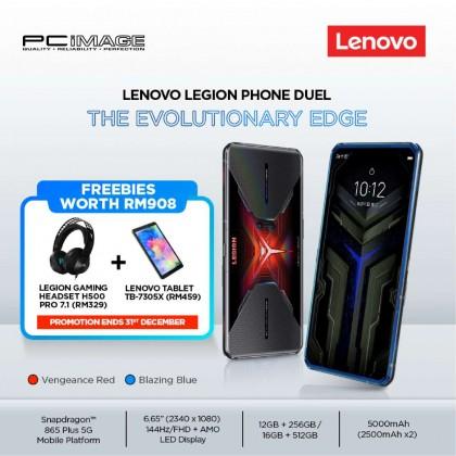 "LENOVO L79031 MY Legion Phone Duel Gaming Smartphone (SD650+ 5G, 16GB, 512GB, 6.65"" 144Hz, 5000MAh)"
