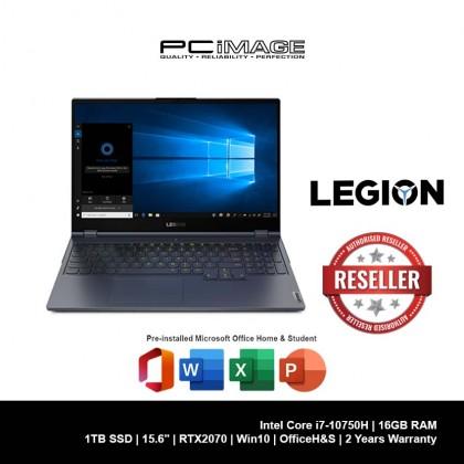 "LENOVO Legion 7 15IMH05-81YT0065MJ 15.6"" Gaming Laptop (i7-10750H, 16GB, 1TB, RTX2070, Win10, OfficeH&S)"