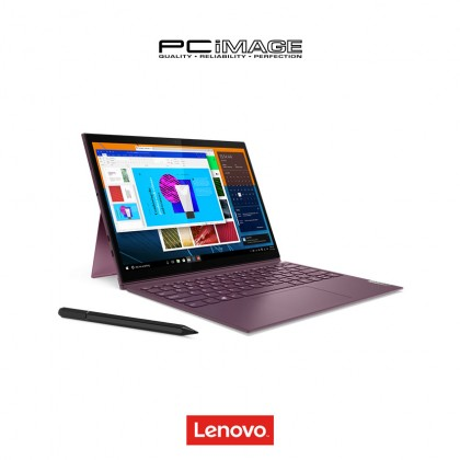 "LENOVO Yoga Duet 7i 13IML05-82AS007KMJ/54MJ 13"" 2in1 Multi Touch Laptop - Orchid/Grey (i5-10210U, 8GB, 256GB, Win10)"