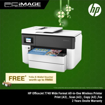HP OFFICEJET PRO 7740 WIDE FORMAT ALL-IN-ONE-PRINT (A3) SCAN (A3) COPY (A3) FAX