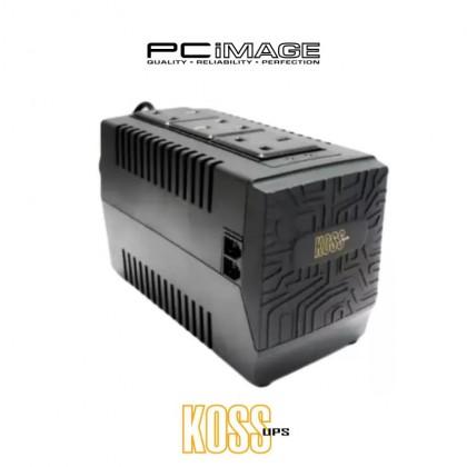 KOSS Activa V-Series Automatic Voltage Regulator (AVR)- Activa A-80V ( 800VA ) 3 UK Plug, RJ11 Port,Surge Protection