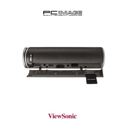 Viewsonic M1+ / M1+ G2 300 ANSI Lumens Portable Projector with Wi-FI, BT input and Dual Harman Kardon Speakers & Built-in Battery