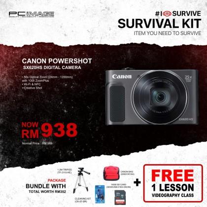 CANON PowerShot SX620 HS (Black / Red / White)