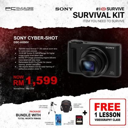 SONY DIGITAL CAMERA CYBER-SHOT DSC-HX90V