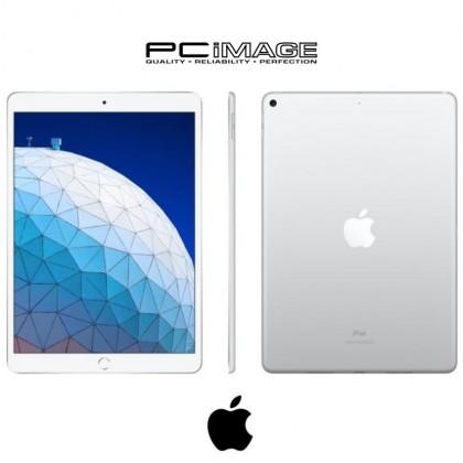 "[Demo Unit] APPLE Ipad Air Wi-Fi 64GB 10.5"" [3rd Gen] (Hexa-core, iOS 12.1.3, 3GB RAM, 64GB ROM, 8MP Rear, 7MP Front Camera) - Silver + Free Apple Smart Keyboard for Ipad & Ipad Air, & Apple Water Bottle"