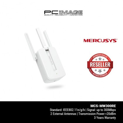 MERCUSYS MCS-MW300RE 300Mbps Wi-Fi Range Extender