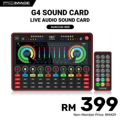 G4 Live Sound Card Full Set Of Live Broadcast Equipment Webcast Sound Card