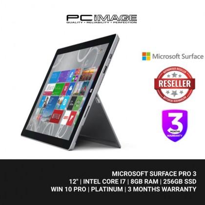 Microsoft Surface Pro 3 (Intel Core i7 / 8GB RAM / 256GB SSD, Win10 Pro)
