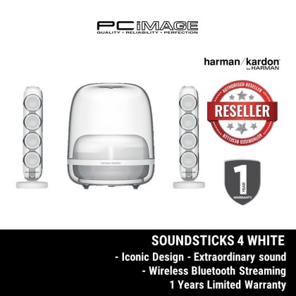 Harman Kardon SoundSticks 4 Iconic Bluetooth Speaker System