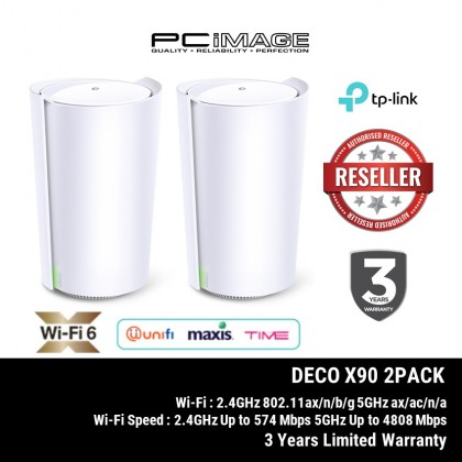 TP-LINK DECO X90 AX6600 WHOLE HOME MESH WI-FI6 ROUTER