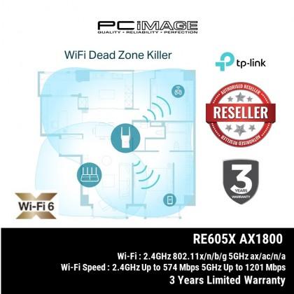 TP-LINK TL-RE605X WI-FI 6 AX1800 RANGE EXTENDER