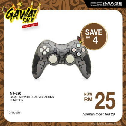 Usb N1-320 Gamepad with Dual Vibration Function
