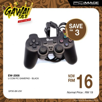 EW-2008 PC Gamepad - Black
