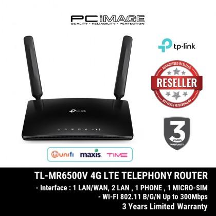 TP-LINK TL-MR6500V / MR650V  4G LTE ROUTER N300 TELEPHONY SUPPORT