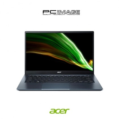 """ACER Swift 3 SF314-511-51YL/559D 14"""" Laptop - Silver/Blue (i5-1135G7, 8GB, 512GB, Intel, Win10, OfficeH&S)"""