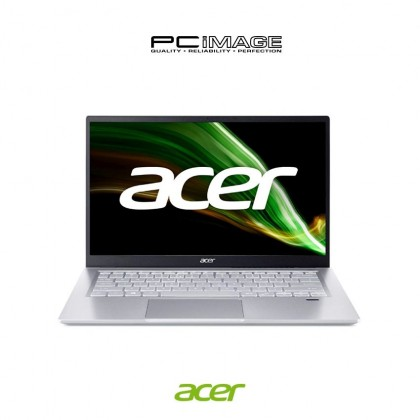 """ACER Swift 3 SF314-511-51YL 14"""" Laptop - Pure Silver (i5-1135G7, 8GB, 512GB, Intel, Win10, OfficeH&S)"""