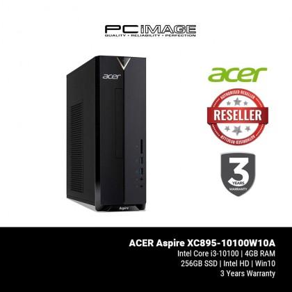 ACER Aspire XC895-10100W10A Desktop PC (i3-10100, 4GB, 256GB, Win10)