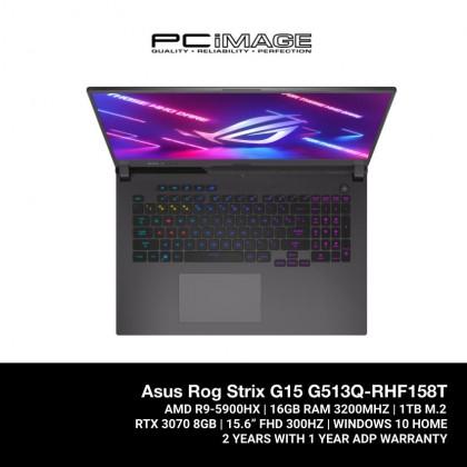 ROG STRIX G15 (G513Q-RHF158T)/ R9 5900HX/ 16GB RAM/ 1TB SSD/ RTX 3070/ 300Hz 3ms/ FHD/  2 Yrs Warranty