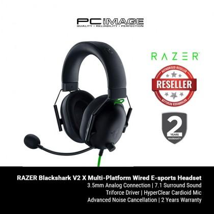 RAZER Blackshark V2 X Multi-Platform Wired E-sports Headset - RZ04-03240100-R3M1