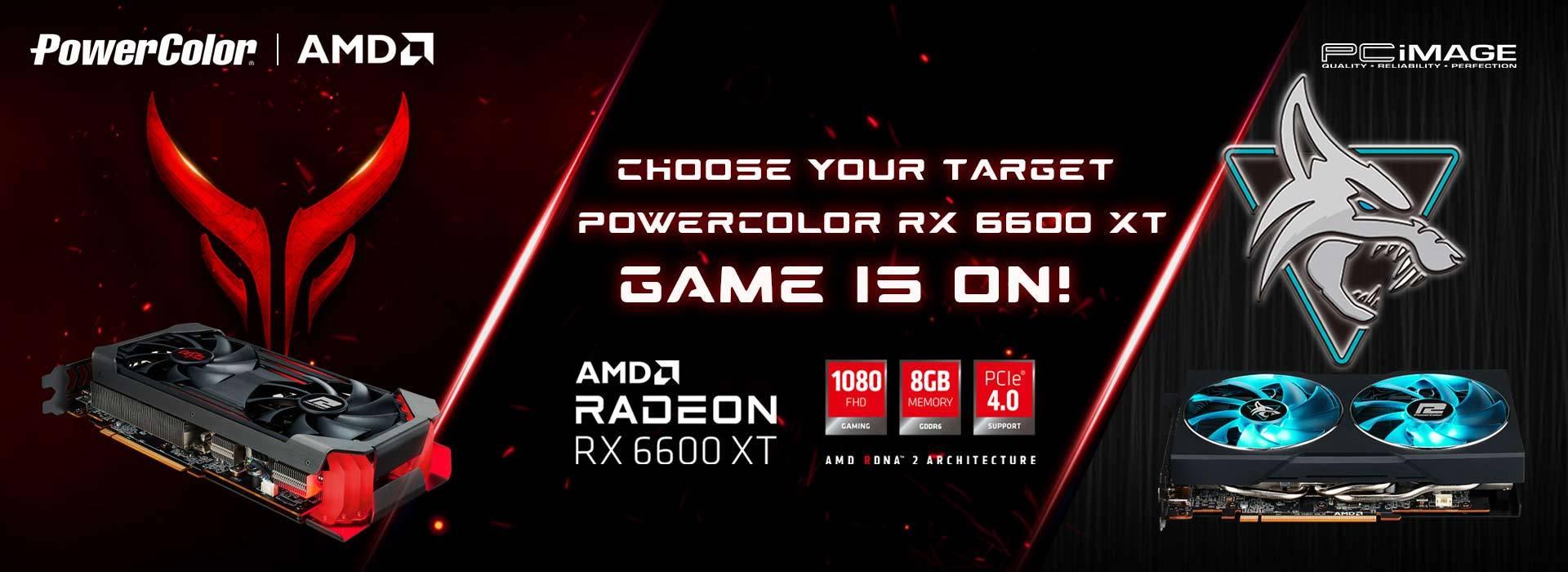 Powercolor AMD RADEON RX 6600XT