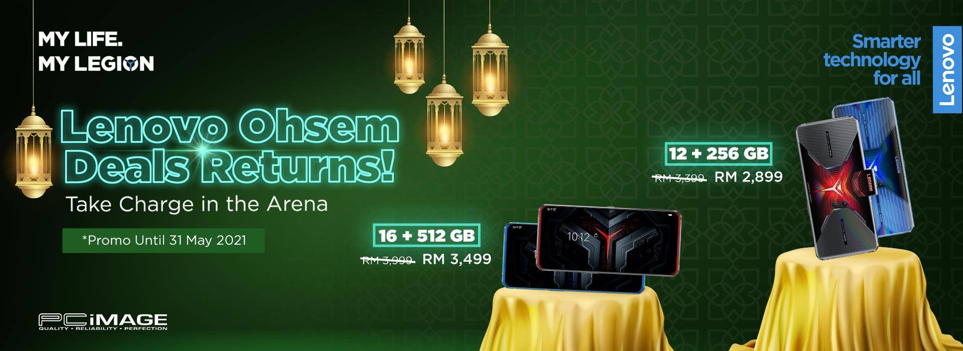 Lenovo Ohsem Deals Return 31 May