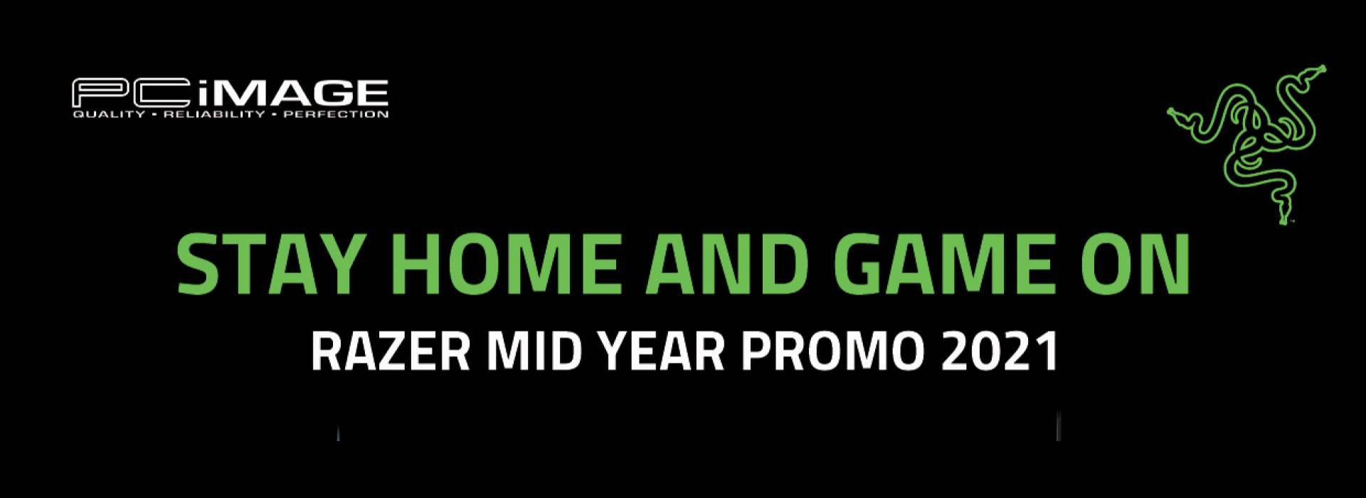 Razer Stay Home & Game On 30 June