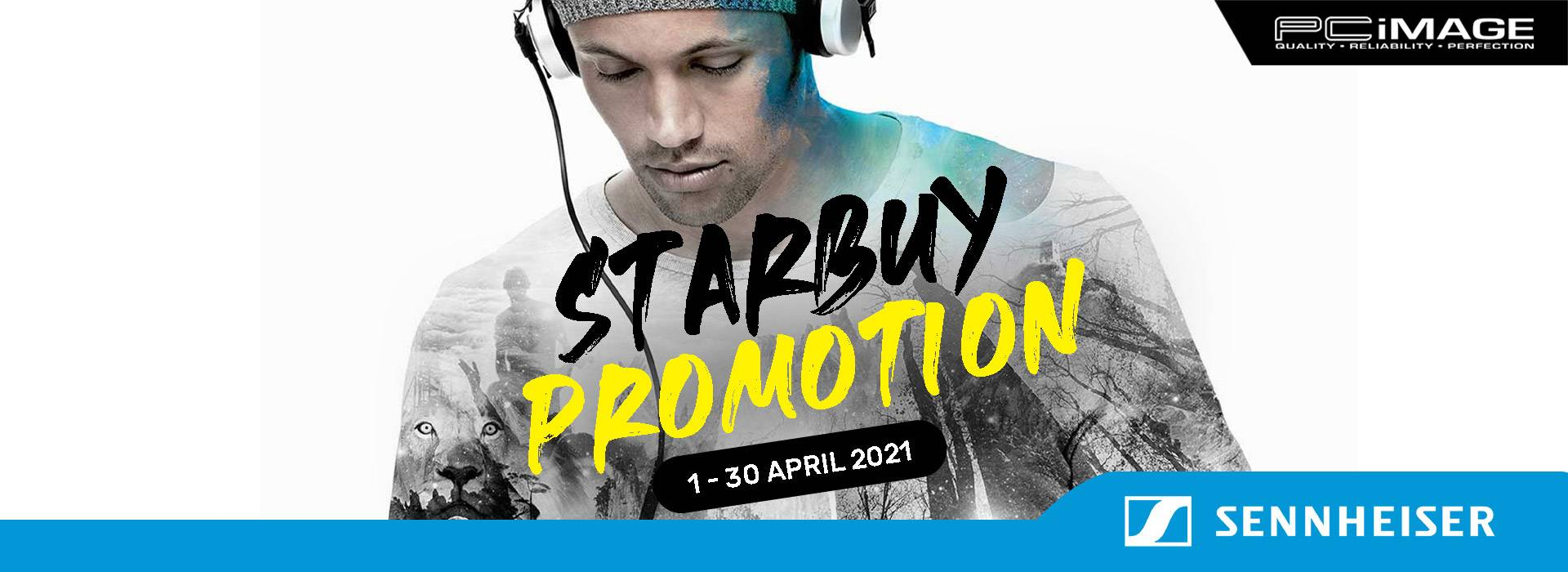 Sennheiser Starbuy Promotion 30 APR