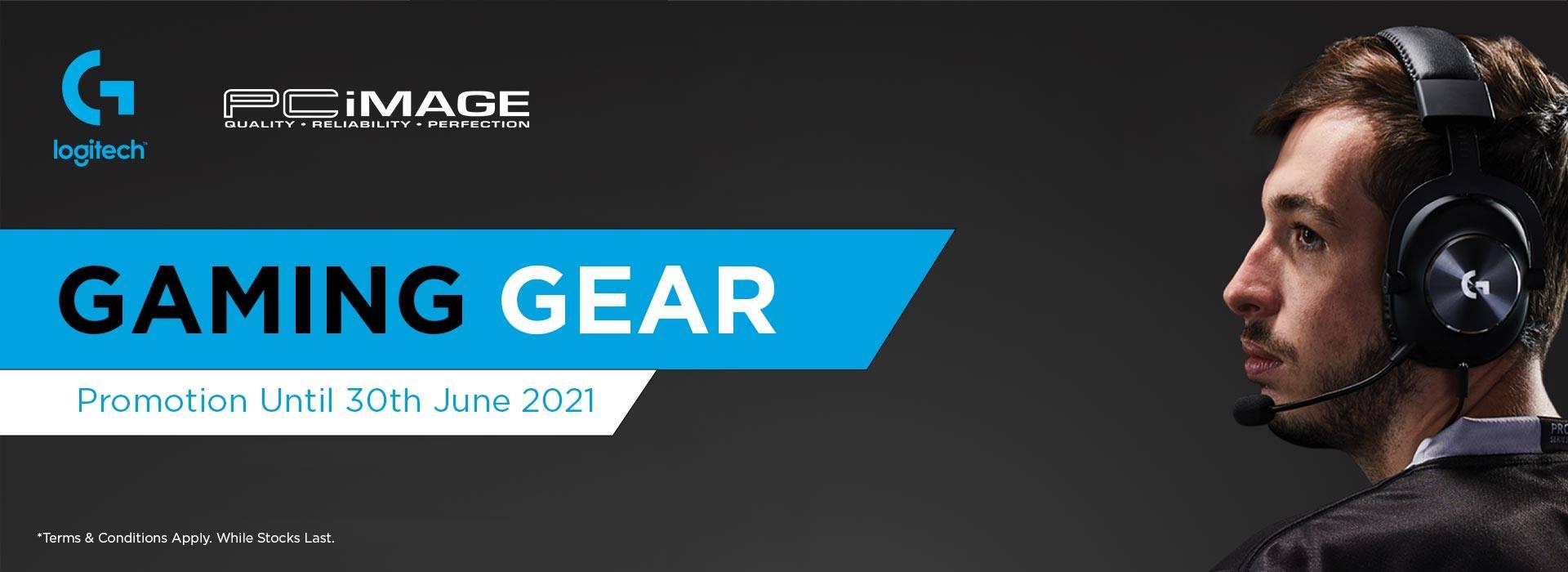 Logitech Gaming Gear 30 June