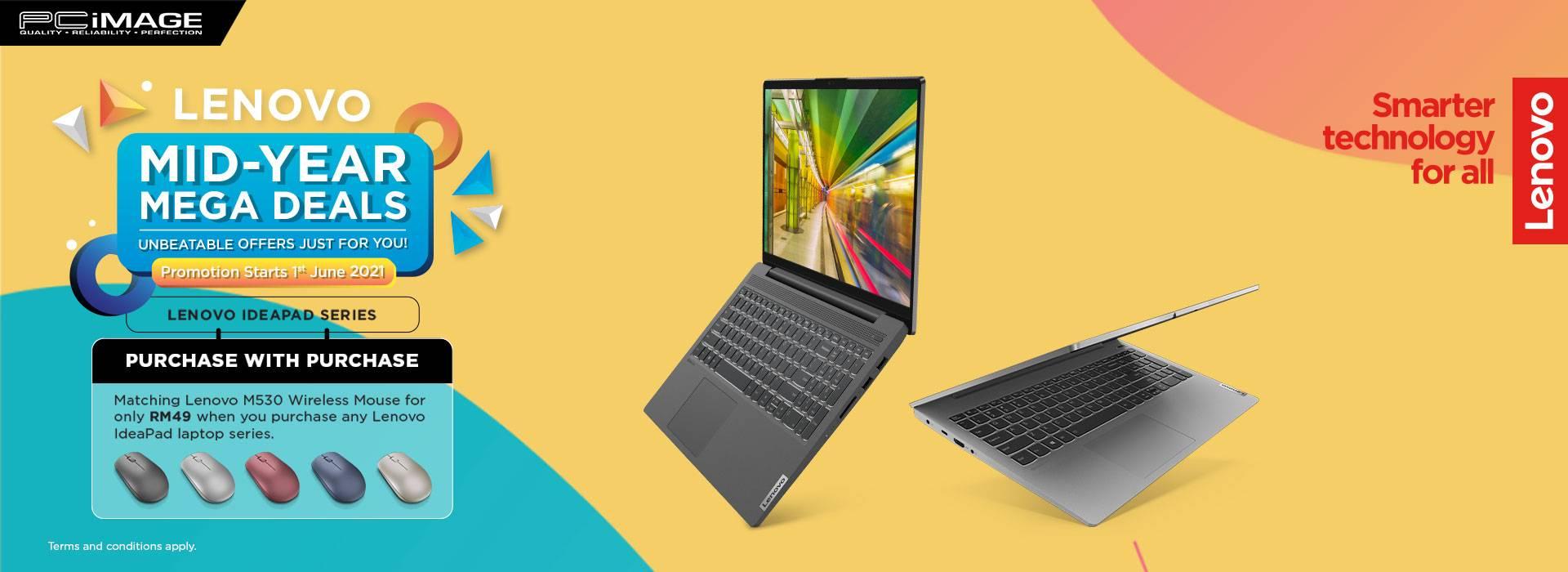 Lenovo Mid Year Promo 31 July