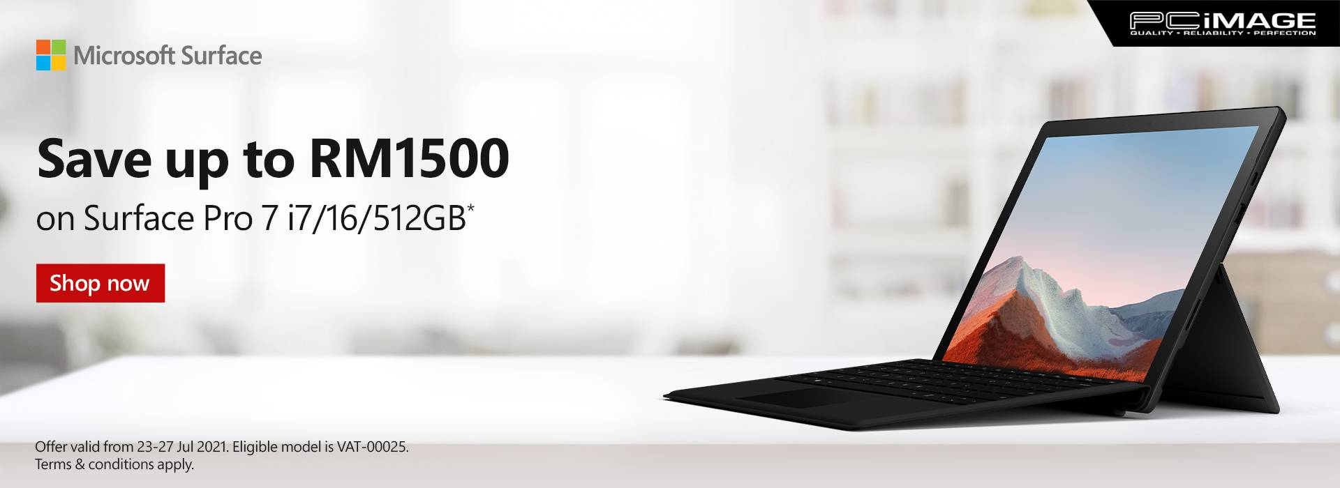 Selected Surface Device Promo 27 July