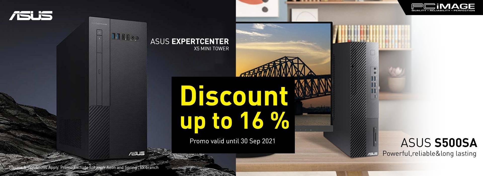 Asus Desktop Promo 30 Sep