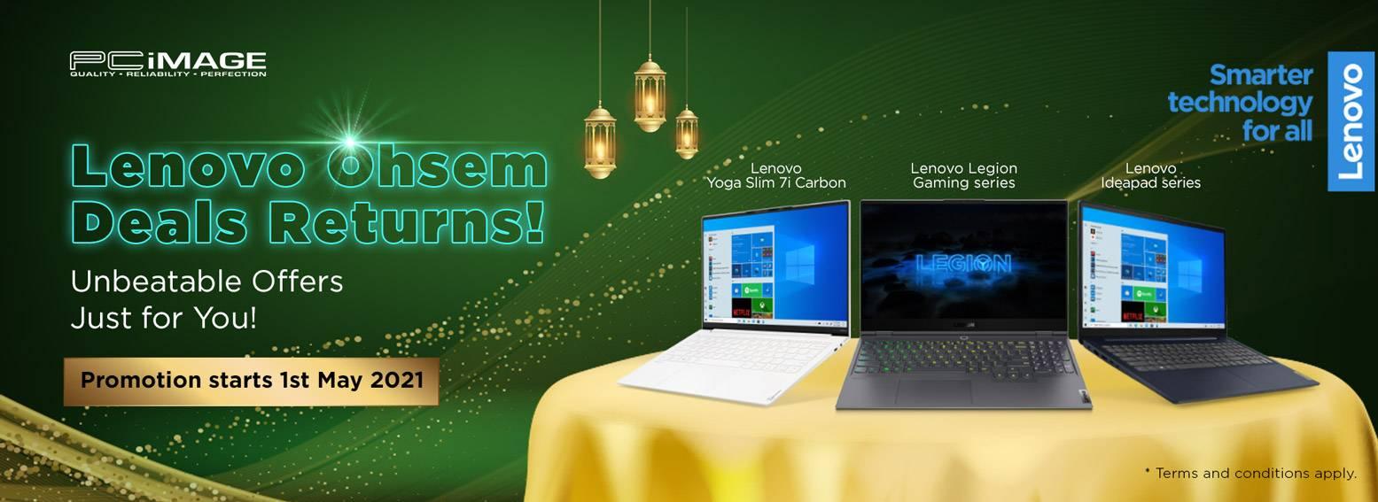 Lenovo Ohsem Promo 31 July