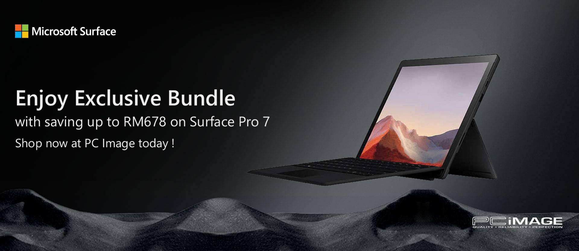 Surface Pro 7 Exclusive Bundle