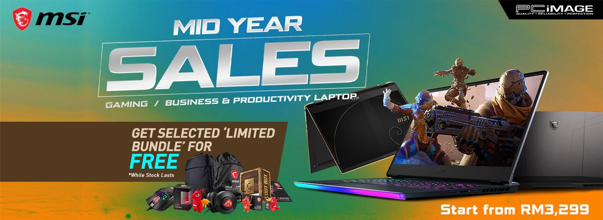 Msi Mid Year Sales 31 July