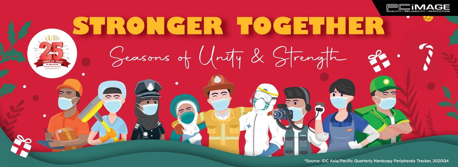 Canon Stronger Together