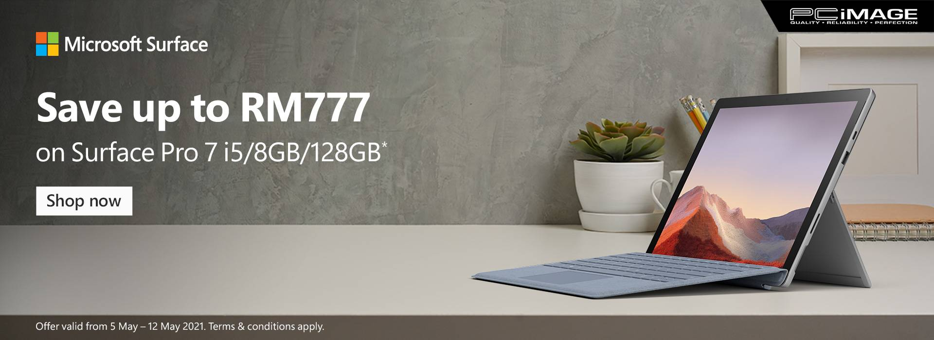 Surface Selected Device Promo 12 May