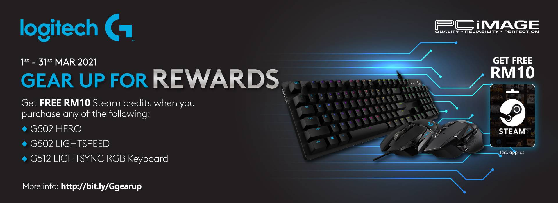 Gear up with rewards 31 March