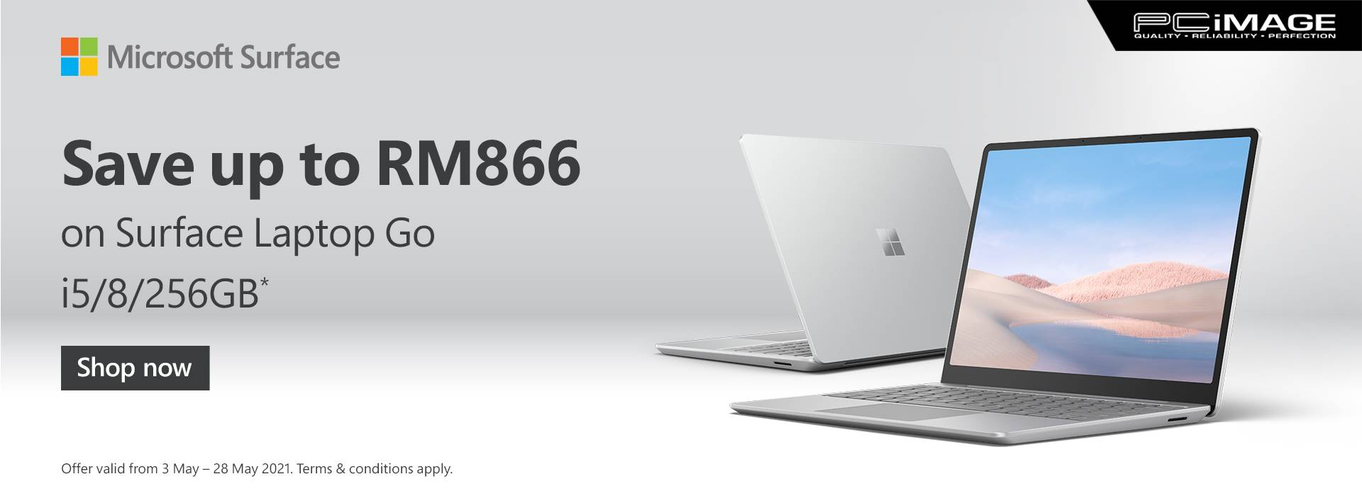 Surface Selected Device Promo 28 May