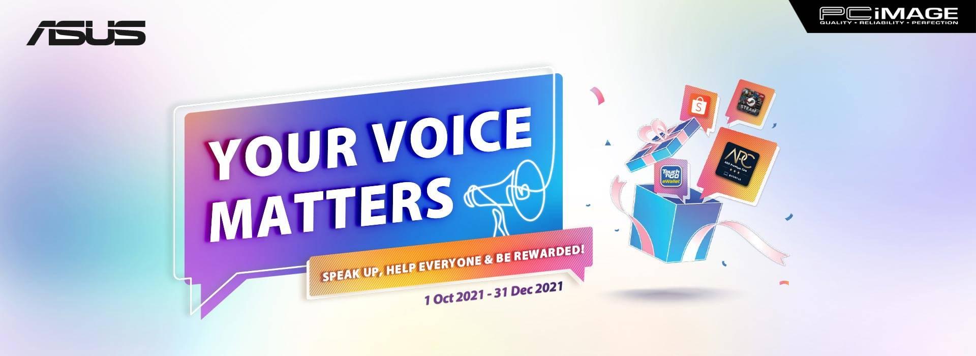 Asus Your Voice 31 Dec