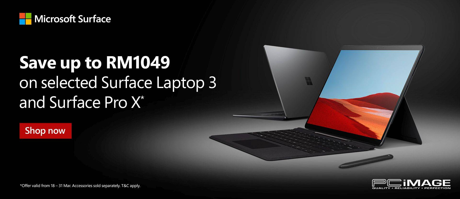 Surface March Promo